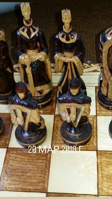Фирменные, эксклюзивные, сувенирные шахматы- нарды, резной, ручной ра