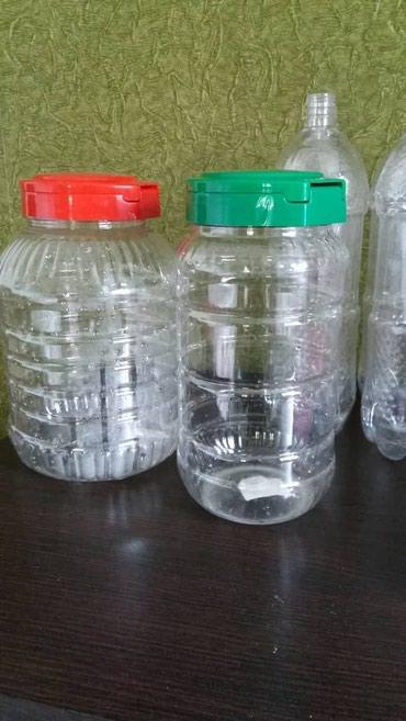 Пластиковые баночки (новые) с в Бишкек