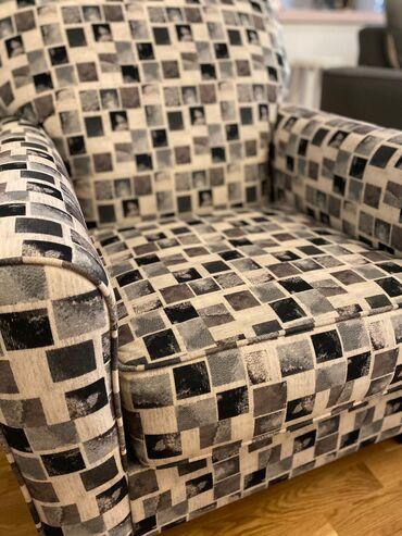 Divan dəsti satılır (üçlü divan + kreslo). Saloğlu mebel mağaza