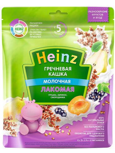 акита ину хатико в Кыргызстан: Heinz / Каша молочная лакомая гречневая грушка, абрикос
