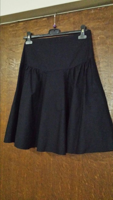 Nova crna letnja suknja, veličina 40, struk 70cm, dužina 56cm - Velika Plana
