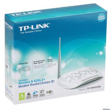 Tp-Link modemlər Modemlər yenidir. Ünvana çatdırılma var