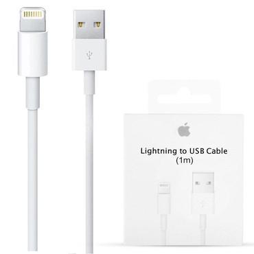 usb-iphone-5 в Кыргызстан: Real Original USB iPhone lighting cable