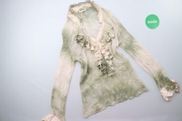 Жіноча блуза з рюшами Tensione In, p. L    Довжина: 67 см Ширина плече