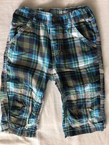 Pantalone cm - Srbija: Bermude za dečaka vel 6 godMalo nošene, od tanke viskoze.Bez kopčanja