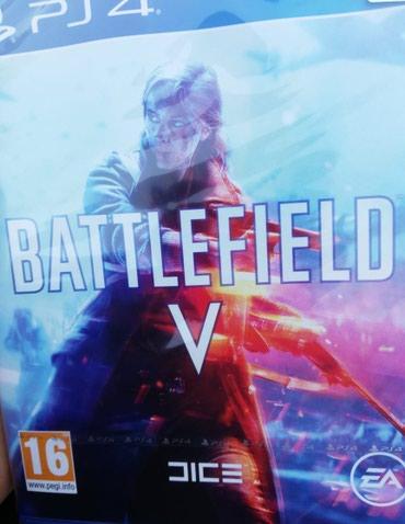 """Bakı şəhərində Ps4 ucun ,,battlefield 5"""" oyun diski.yenidir"""