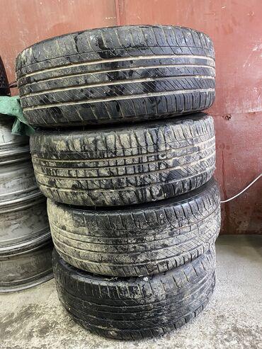 225 70 17 летние шины в Кыргызстан: Срочно Шины лето Toyo 225/50/18 без шишек протектор 50-60%