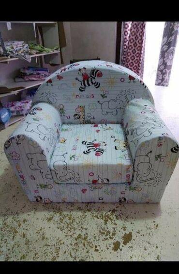 Nameštaj - Odzaci: Lara foteljaPrakticna decija fotelja izradjena od cvrstog sundjera