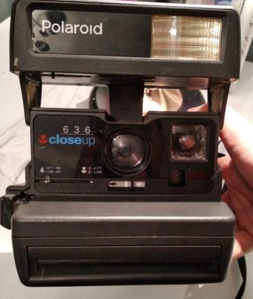 Bakı şəhərində Polaroid fotoaparati. Yaxsi veziyyetde