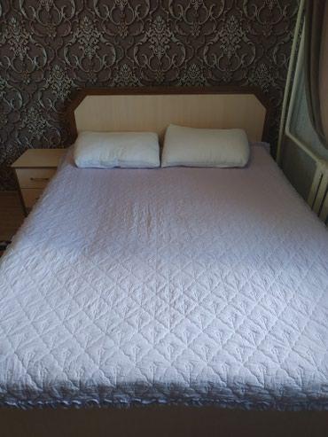 Спальный кровать 2спалка. 5000сом . адрес мкр Учкун. в Бишкек