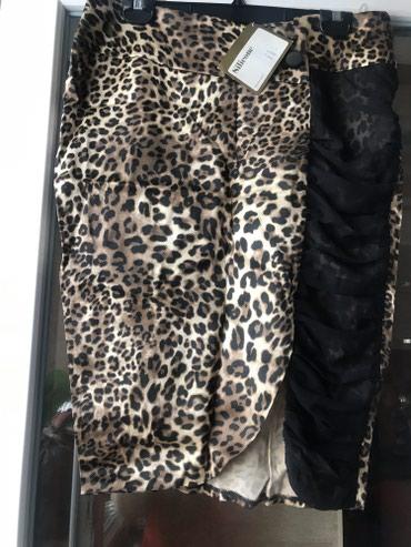 Юбка стильная леопард р 40 Турция новая в Бишкек