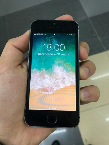 IPhone 5s Space Gray 16gb в Бишкек