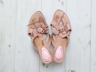 Женские кожаные босоножки на каблуке min min,р.39 Длина подошвы: 26 см