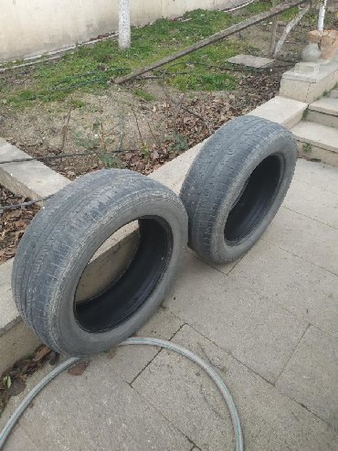 225 65 17 зима в Азербайджан: Kia Sportage ucun tekerler 225/60R17 99H M+S ikisi 80 manata