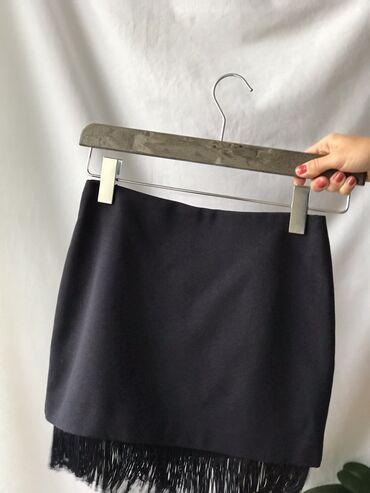 Bmw 8 серия 850i at - Srbija: H&M teget suknja sa resama. Rese su prišivene za postavu. Pozadi