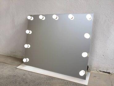 Зеркало с подсветкой! Без лампочек  Ценна 6000