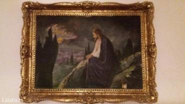 Original,dim. 70×55 (ulje na platnu,ram restauriran)slika stara preko - Pancevo