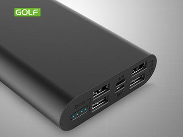 Power bank GOLF EDGE15 15000mAh crna 4xUSB 00G45 - Beograd