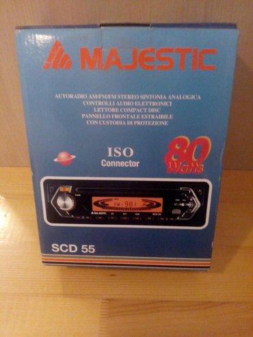 Auto radio cd ,donet iz italije , nov - Novi Banovci