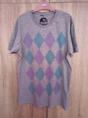 Мужская футболка Zara оригинал, Португалия. Качество на уровне. Ткань