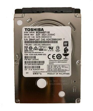 hard disc - Azərbaycan: Sərt disk Toshiba MQ04ABF100 2.5in 1TB SATA III 5400 RPM Notebook Hard