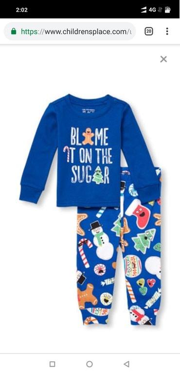 Children's Place, штаты, новая пижама на 0-3 мес. х/б. в Бишкек