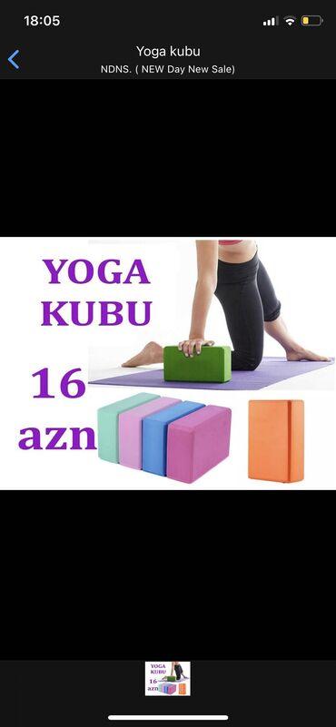 yoga mat baku - Azərbaycan: Yoga kubu Keyfiyyətə zəmanət verilir. Metrolara pulsuz çatdırılma