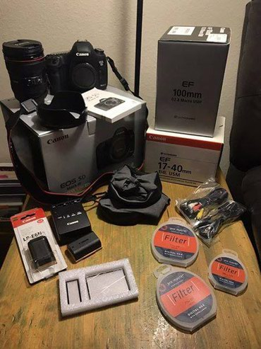 Brand new Canon mark 5 iv with complete kits and accessories в Заргар