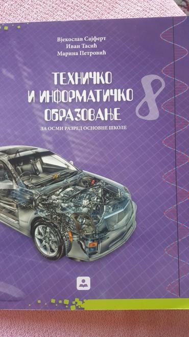 Knjige, časopisi, CD i DVD | Sremska Mitrovica: 8 r tehnicko i informaticko obrazovanje udzbenik zavod za udzbenike bg