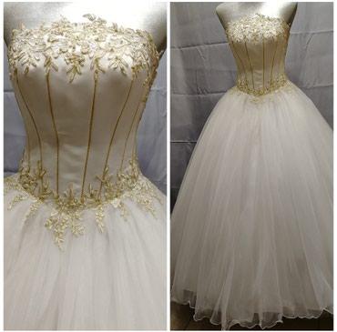 КРАСИВОЕ ПЛАТЬЕ свадебное белое с в Бишкек