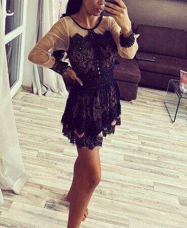 Bela haljina sa cipkom - Srbija: Haljinica od najfinije cipke nosena samo jednom, u odlicnom je stanju