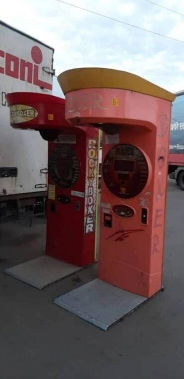 Оборудование для бизнеса - Кызыл-Кия: Аттракцион силомер боксер