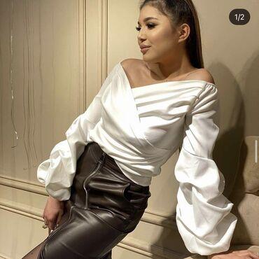 Рубашки и блузы - Кыргызстан: Блузка/ кофта в идеальном состоянии  Надевала пару раз