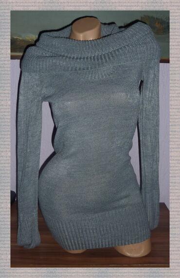 H&M UZA TUNIKA ROLKA KAO VOVA VEL 36širina ramena 35cmširina ispod