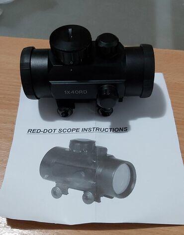 Red dot optika,nova ne koriscenapogodna za samostrele i vazdusne