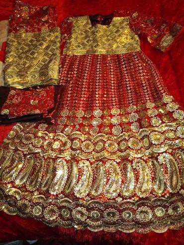 Платья в Кызыл-Кия: Индийские сари размер 46-48 новый