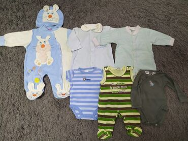 carters набор в Кыргызстан: Продаю вещи пакетом на мальчика от 0 до 3 месяцев. В набор входит: 1