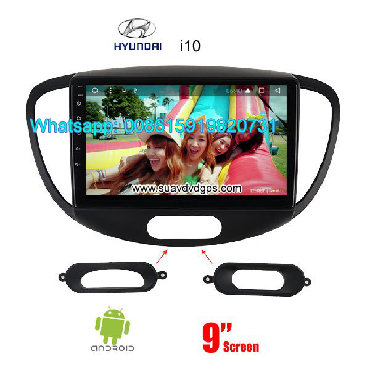 Hyundai i10 radio GPS android   Model Number: SUV-H9428A  Compatible