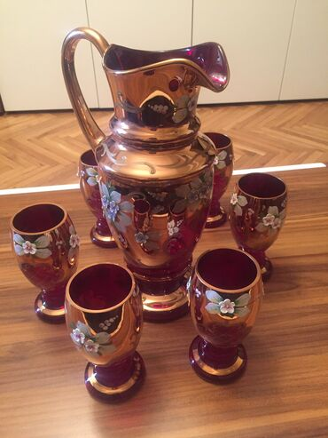 büllur - Azərbaycan: Cehizlik nabor, oreqinal maldir, hec bir problemi yoxtur, çatdırılma