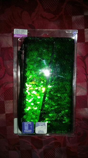 Elektronika - Petrovac na Mlavi: Claire's futrola za iPhone 6/7(novo)piši briši pa moze da bude zelena