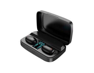 Беспроводные наушники TWS Earbuds A10S + Power Bank (черный)Быстро и