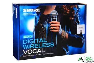 Bakı şəhərində Keyfiyyətli SHURE GLXD24E/SM58 vocal mikrafonları rəsmi distributor
