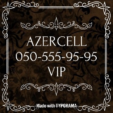 vip nomre - Azərbaycan: 050-555-95-95 Yeni VIP Azercell nomre