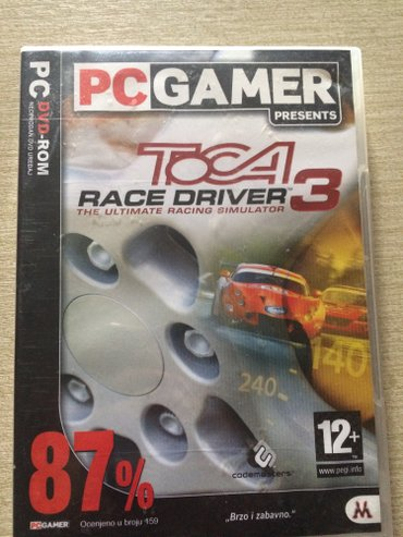 Igra pc toca race driver 3 original cd - Plandište