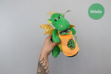 Детский мир - Украина: Дитяча м'яка іграшка Дракон   Довжина: 21 см Ширина:23 см Склад: гіпоа