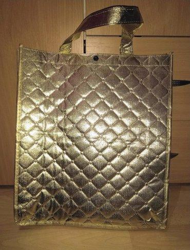 Pismo torbau oker boji na preklop dimenzije - Srbija: Nova veca torba u zlatnoj boji. Dimenzije 40x35x10cm. Novo! Nisam za