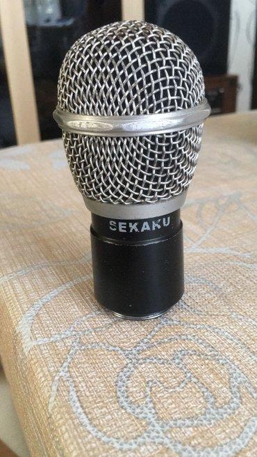 - Azərbaycan: Sekaku mikrofonun kapsul. Istifadə olunub. Səs - super. Tam yoxlama