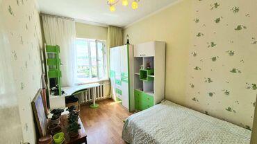 Продажа квартир - 3 комнаты - Бишкек: 105 серия, 3 комнаты, 62 кв. м Бронированные двери, С мебелью, Евроремонт