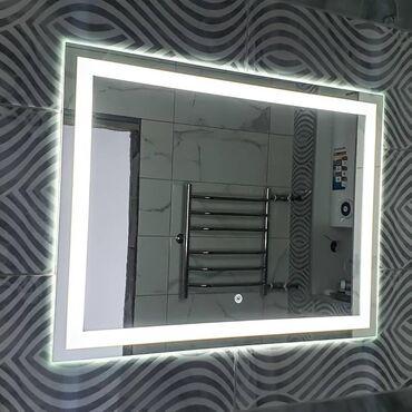 зеркала бишкек in Кыргызстан | АВТОЗАПЧАСТИ: Зеркало с подсветкой Бишкек зеркала на заказСенсорным