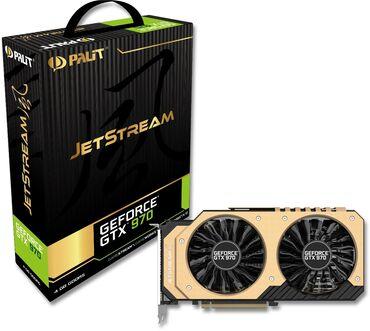 Продаю видеокарту gtx 970 Palit Jet stream 4 GB 256 BIT. Цена 10 799